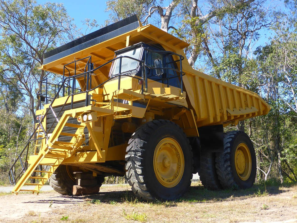 Dump Truck Image Heavy Equipment Transport